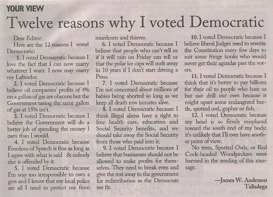 reasons-democrat